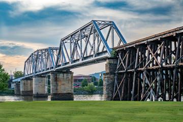 Train Bridge and Trestle
