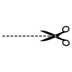 The scissors icon
