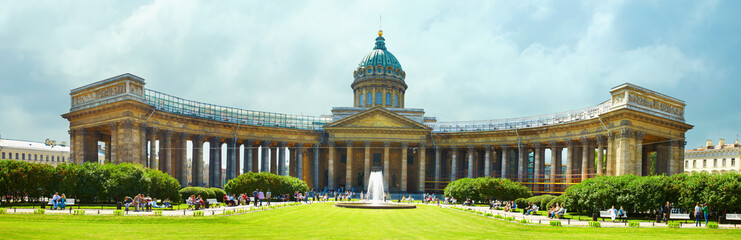 Kazansky cathedral - St. Petersburg