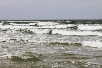 Ocean and sea waves beautiful nature phototography