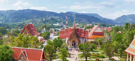 Buddhist temple Wat Chalong, Thailand, Phuket