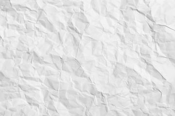 Crumpled paper - horizontal background