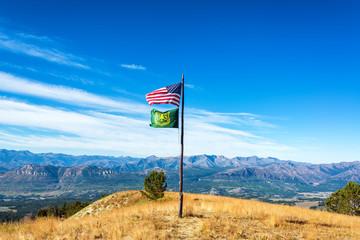 American Flag Landscape