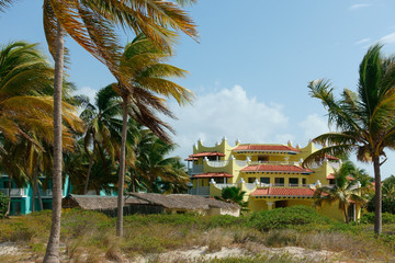 Cuban vacation resort hotel