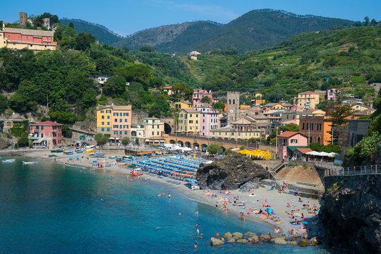 Monterosso, Italy along the Cinque Terre