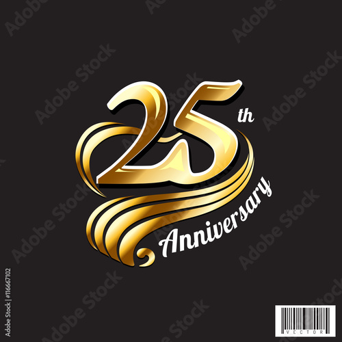 25 th anniversary logo and symbol design stock image and royalty free vector files on fotolia - Th anniversary symbol ...