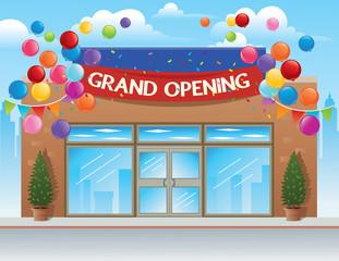 Grand Opening Retail Store