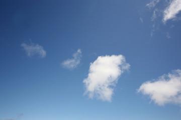 青空と雲|積雲|横