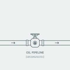 oil pipeline concept