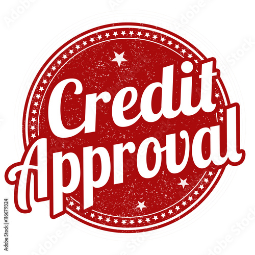 Credit Approval Stamp Stock Image And Royalty Free Vector Files On