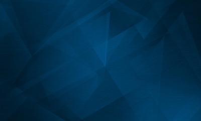 Abstract polygonal dark blue background