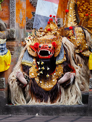 Barong costume - traditional Balinese theater