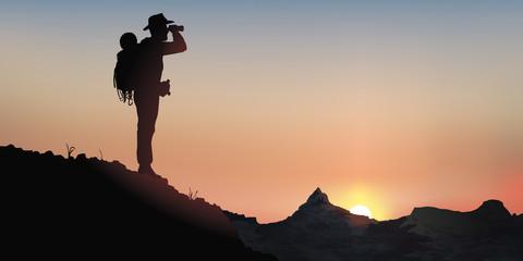Baroudeur - Paysage de montagne