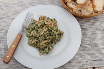 risotto poulet et pesto 25072016