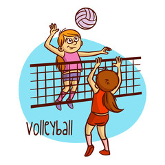 Summer Olympic Sports. Volleyball