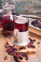 tea from hibiscus