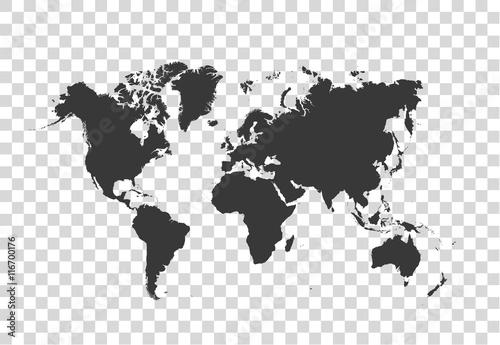 Wall mural Political World Map