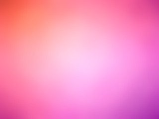 Abstract gradient red pink purple colored blurred background