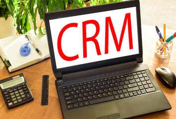 CRM. Concept office