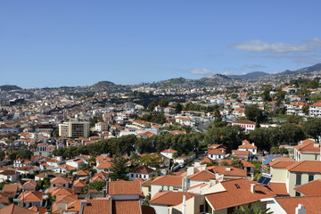 View over Funchal, Madeira, Portugal