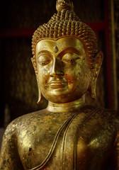 Old statue of Buddha