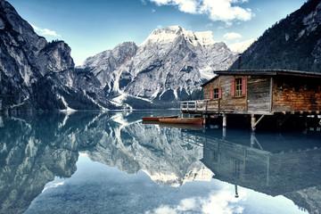Dolomiten - Bergwelt in den Alpen Wall mural