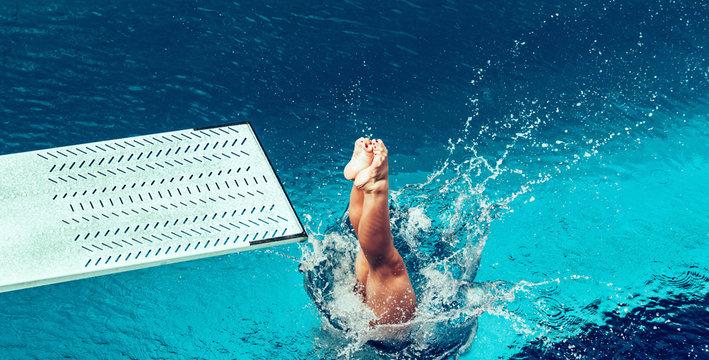 Springboard diving