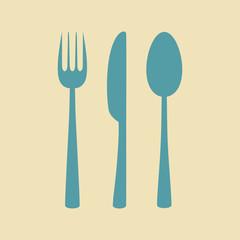 Cutlery vector icon