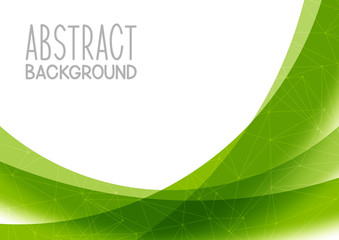Abstract green background for Your design