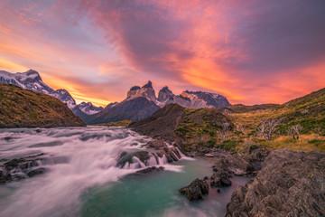 Salto grande waterfall, argentina