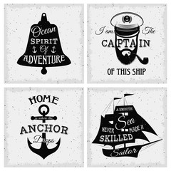 Nautical Quotes Compositions
