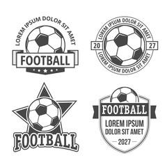 Football emblems