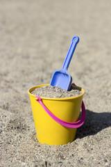 Spade in a bucket