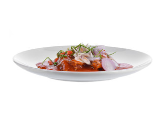 Spicy fish Canned Sardines Salad Thai foo