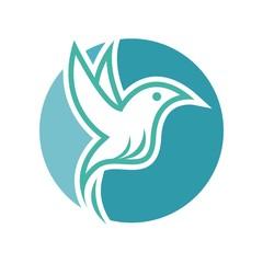 Animals Bird logo vector