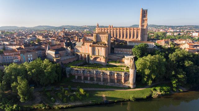 Albi, cathédrale Sainte Cécile et le Palais de la Berbie