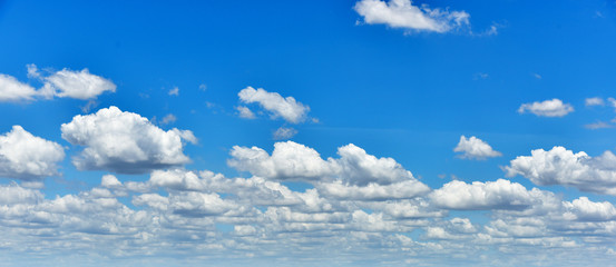 Canvas Prints Heaven clouds in the blue sky