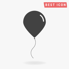 Balloon icon, vector icon eps10.