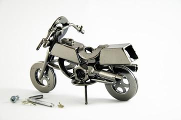 Iron motorbike toy