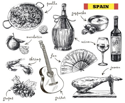 food, drink and the mood in Spain