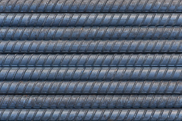 Closeup rebar texture for background