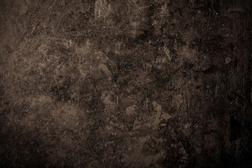 Black metal surface for background. Toned