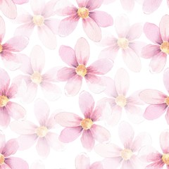 Delicate floral background. Seamless pattern 5