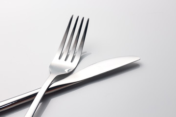 close up spoon, fork, knife, Kitchen ware