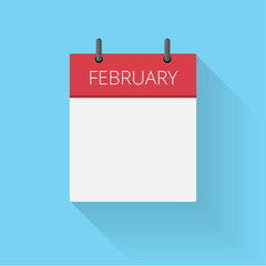 Vector of Month of a Year Calendar Icons Template, Flat designed vector illustrator, for web application , UI calendar