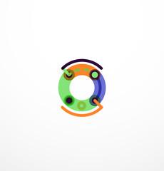 Line letter design