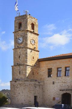 Seraya, Ottoman fortress, Safed, Galilee, Israel