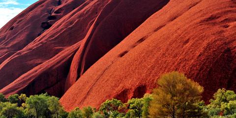 Australia Landscape : Red rock of Australia