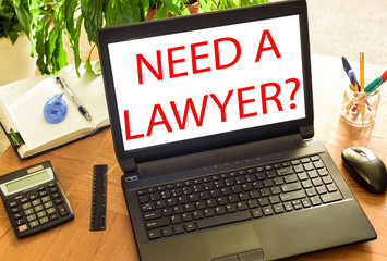Need a lawyer? Concept office
