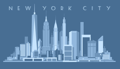 Wall Mural - New York City Skyline,